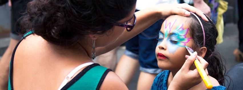 calendula maquillando en Barcelona