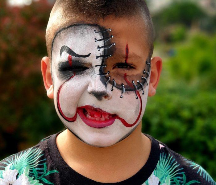 Halloween payaso pintacaras