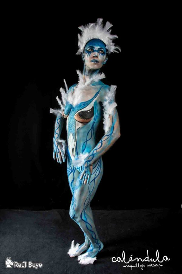 Body paint volar